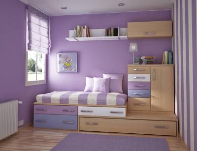 Современный дизайн детской комнаты 2012