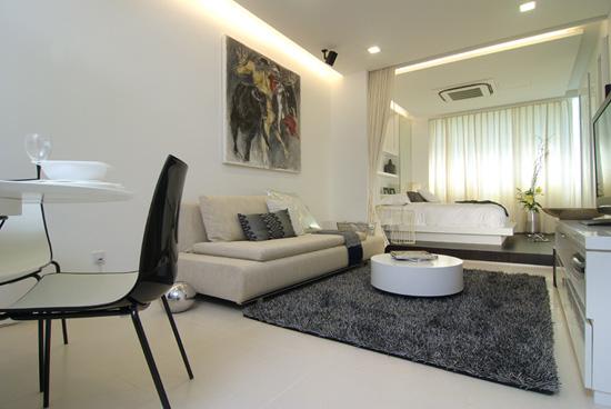 Стильные однокомнатные квартиры фото